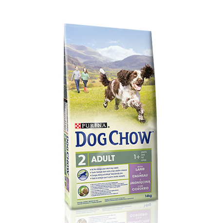 Сухой корм для собак (с ягненком) Purina Dog Chow (0,8 кг)